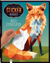 Kaleidoscope Sticker Mosaics: Wild Animals