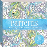 Mini Mindfulness Patterns Colouring Book