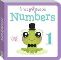 First Steps Large Board Book: Numbers