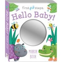 First Steps Hello Baby Mirror Book