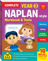 Complete Year 3 Naplan*-style Workbook & Tests