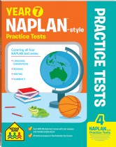 School Zone: Year 7 NAPLAN*-style Practice Tests