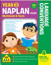 3 NAPLAN*-style Language Conventions Workbook & Tests
