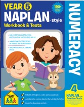 Year 5 NAPLAN*-style Numeracy Workbook & Tests