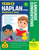 Year 5 NAPLAN*-style Language Conventions Workbook & Tests