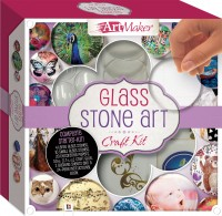 Art Maker Glass Stone Art Craft Kit
