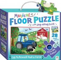 Nursery Rhymes Floor Puzzle With Sound: Old MacDonald