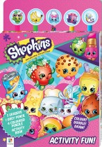 Shopkins Activity Fun 5-Pencil and Eraser Set