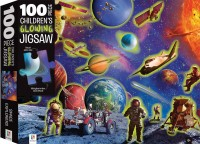 100-Piece Children's Glowing Jigsaw: Space Adventure