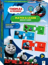 Thomas and Friends: Match and Learn Numbers Jigsaw Cards