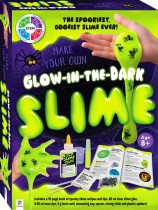 Make Your Own Glow-in-the-Dark Slime Kit