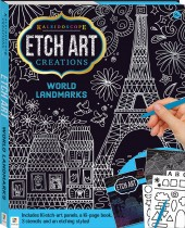 Kaleidoscope Etch Art Creations: World Landmarks