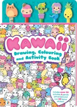 Kawaii 5-Pencil and Eraser Set