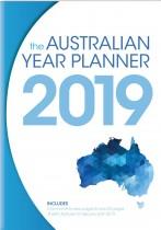 Australian Year Planner 2019