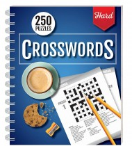 250 Puzzles: Crossword (Hard)