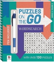 Puzzles on the Go: Wordsearch Series 8 Volume 3