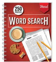 250 Puzzles: Wordsearch (Hard)