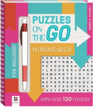 Puzzles on the Go: Wordsearch Series 8 Volume 1