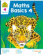 School Zone Math Basics 4 I Know It Book