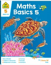 School Zone Maths Basics 5 I Know It Book