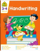 School Zone Handwriting  I Know It Book