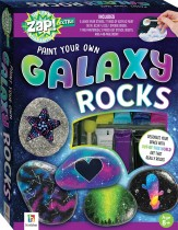 Zap! Extra Paint Your Own Galaxy Rocks