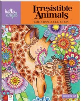 Hello Angel Inspirational Colouring Book: Irresistible Animals