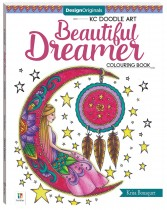Design Originals Beautiful Dreamer Colouring Book