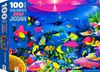 100-Piece Children's Jigsaw with Treatments: Reef