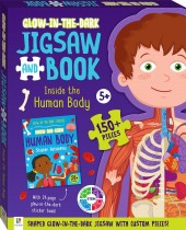 Glow-in-the-dark Jigsaw and Book: Inside the Human Body