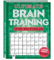 Ultimate Puzzle Book: Brain Training