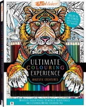 Ultimate Colouring Experience: Majestic Creatures Kit