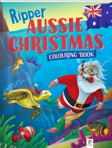 Ripper Aussie Christmas Colouring Book