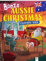 Bonza Aussie Christmas Colouring Book