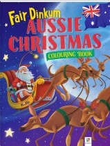 Fair Dinkum Aussie Christmas Colouring Book