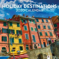 2020 Calendars: Holiday Destinations
