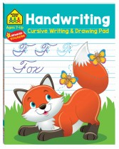 School Zone: Handwriting Cursive Writing and Drawing Pad