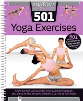 Anatomy of Fitness: 501 Yoga Exercises (spiral bound)