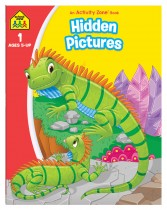 Hidden Pictures: An Activity Zone Book (2019 Ed)