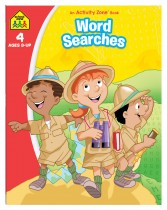 Word Searches: An Activity Zone Book (2019 Ed)
