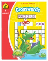 Crosswords: An Activity Zone Book (2019 Ed)