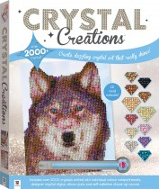 Crystal Creations: Wolf in Snow