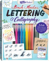 Brush Marker Lettering and Calligraphy Kit