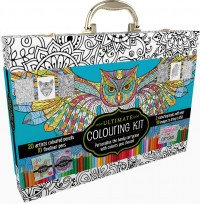 Ultimate Colouring Carry Case: Mandalas and Animals