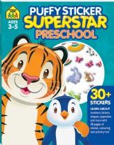 School Zone Puffy Sticker Superstar: Preschool