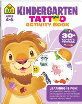 Kindergarten Tattoo Activity Book