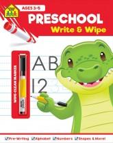 School Zone Write and Wipe: Preschool