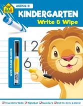 School Zone Write and Wipe: Kindergarten