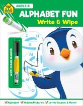 School Zone Write and Wipe: Alphabet Fun