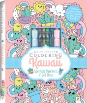 Kaleidoscope Colouring: Kawaii